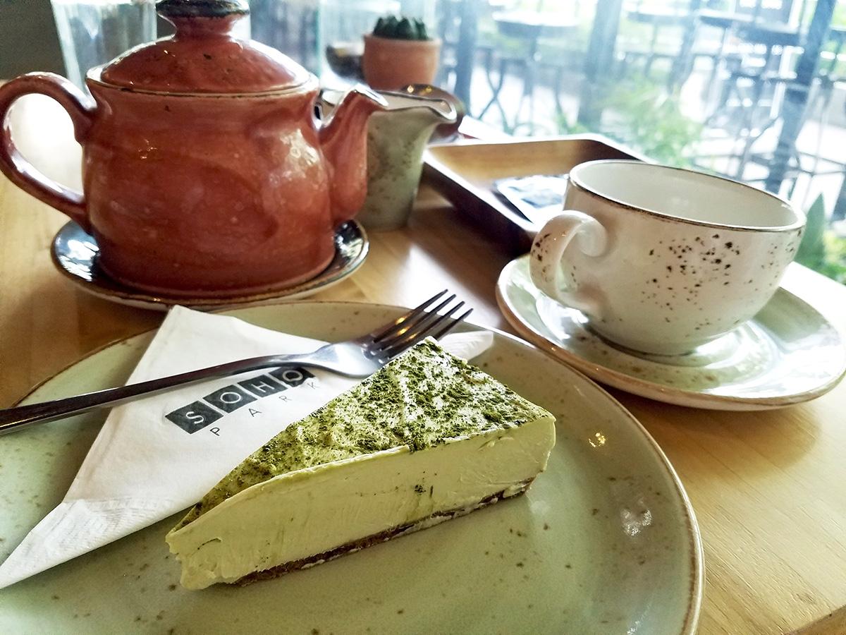 日替わり抹茶チーズケーキ