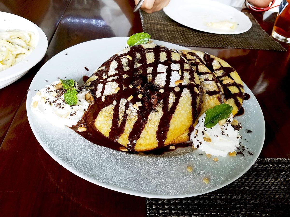 チョコレートバンケーキ