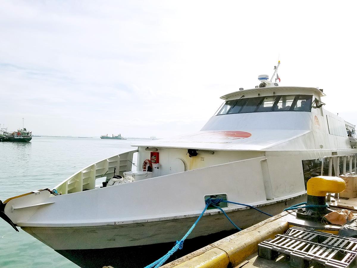 ボホール行きの船