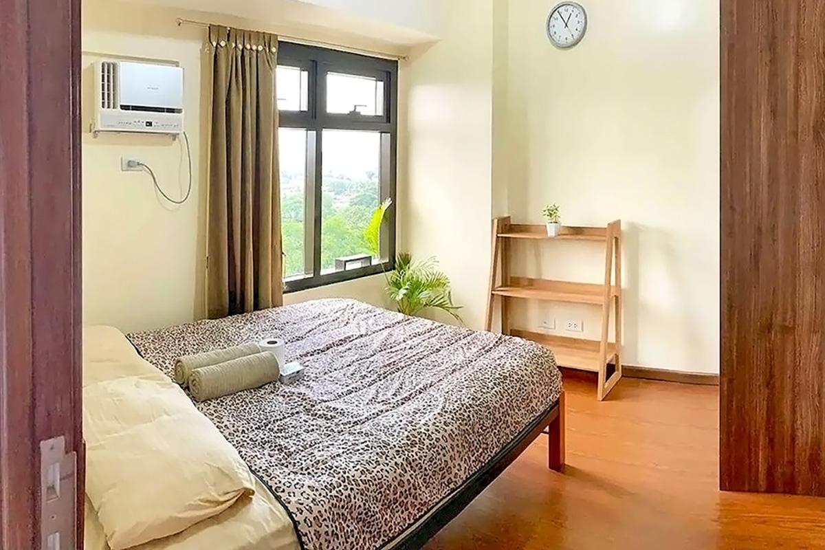 日当たりの良いベッドルーム